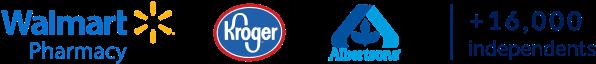 Walmart Kroger Albertsons | 16,000+ Independent Pharmacies