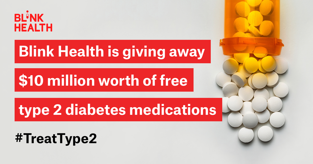 Get your diabetes medication for FREE! #TreatType2
